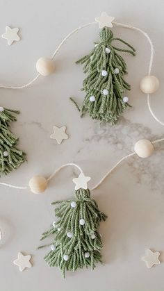 Merry Little Christmas, Rustic Christmas, All Things Christmas, Winter Christmas, Christmas Holidays, Diy Christmas Ornaments, Christmas Projects, Holiday Crafts, Diy Garland