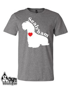Sealyham Terrier Love Heart Dog Breed Silhouette shirt bag hoodie by RaynBoutiqueApparel now at http://ift.tt/2gdNQlz