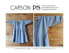 The Carson Dress is the ultimate wardrobe staple and Paddleboat Studios best seller (not surprising because of its easy shape and flattering pockets). With generous drop shoulders and a gentle a-line skirt, this PDF pattern is the perfect place to start for any beginner or the perfect workhorse for the prolific maker. Ive been working hard behind the scenes to get this PDF pattern into your hands - finally it is available for you to make your own with any breezy fabric, and with your choice…