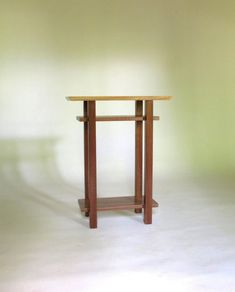 Live Edge Table - Walnut - Modern Nightstand with Shelves, Narrow Wood Table for Bedroom Live Edge Tisch, Live Edge Table, Solid Wood Furniture, Custom Furniture, Furniture Design, Walnut Table, Wood Table, Narrow Nightstand, Narrow Side Table