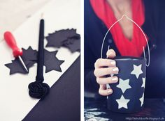 butiksofie: BmK Teil 4 (Martin lanterns) and Petit Fours Diy And Crafts, Arts And Crafts, Scandinavian Style, Decoration, Veterans Day, Memorial Day, Diy For Kids, 4th Of July, Activities For Kids