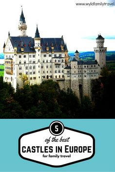 You can not through a stone in Europe without hitting a castle. We love castles when we plan a trip the first thing we look for are castles in the area we will be travelling. I am not sure if it is because there are no castles in Australia. Our family all love castles, here are 5 of the best family travel castles in Europe: