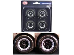 1st 1967 Chevrolet Camaro Z/28 Race Wheels and Tires Set of 4 1/18 by Acme - Brand new 1:18 scale 1st 1967 Chevrolet Camaro Z/28 Race Wheels and Tires Set of 4 by ACME. Officially Licensed Product. Radius approximately: 1.5 inches.-Weight: 1. Height: 5. Width: 9. Box Weight: 1. Box Width: 9. Box Height: 5. Box Depth: 5