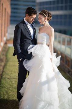 Nautical Club Wedding Inspiration Ruffled