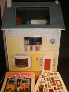 The Fisher Price doll house