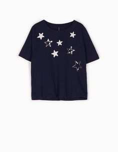 £ woman Sequinned top At just you'll Stradivarius find 12 plush 99 for 1 for 8InOUBZwq