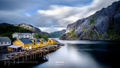 Popular on 500px : Freshness of Nusfjord  Lofoten Norway by paolobolis