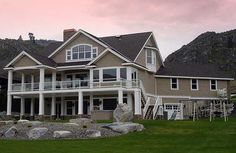 Sold plan 23253JD to Matthew in South Carolina. Beautiful home with a walkout basement.
