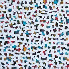 Elisabeth von Wrede, Rien de grave, oil painting, 80x80 cm #artcontemporain #buyart #interiordesign #painting #abstract #color #peinture #abstraction #artgallery