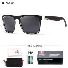 2bf9b8644 Fashion Guy's Sun Glasses From Kdeam Polarized Sunglasses Men Classic  Design All-Fit Mirror Sunglass With Brand Box CE. Brýle