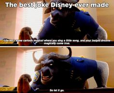 "51 Funny Disney Memes - ""Life isn't some cartoon musical where you sing a little song, and your insipid dreams magically come true. This is the best joke Disney has ever made. Really Funny Memes, Stupid Funny Memes, Funny Relatable Memes, Haha Funny, Funniest Jokes, Funny Memes About Love, Hilarous Memes, Awesome Meme, Funny Stuff"