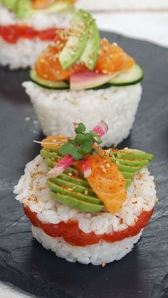 The cupcake trend is in need of an update, and there is no better way to do it than with fresh, colorful sushi.