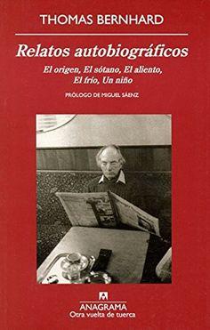 Relatos Autobiográficos (Otra vuelta de tuerca) de Thomas... https://www.amazon.es/dp/843397582X/ref=cm_sw_r_pi_dp_kC2Gxb0DXSY43