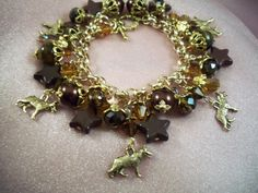GERMAN SHEPHERD Dog   o8   Bracelet  Gift Chain by HOBBYHORSELADY