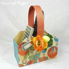 Remote Control Holder - Graphic 45 - Belly Lau - Papercraft Buffet - Workshop