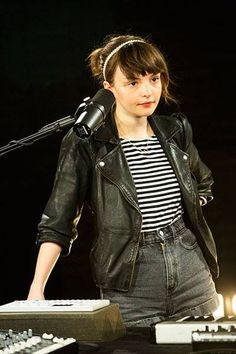 Lauren Mayberry of Chvrches <3