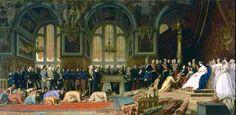Jean Léon Gérôme (1824-1904) Réception des ambassadeurs du Siam à Fontainebleau (1864, Versailles).