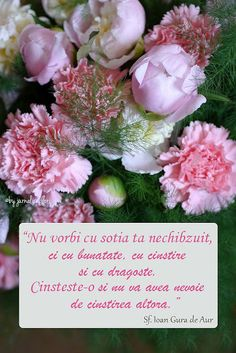 Cinsteste-ti sotia ca sa nu o cinsteasca altul. Bible Verse Wall Art, Bible Verses, Flower Qoutes, Girl God, Christian Quotes, Floral Wreath, Messages, Words, Birthday