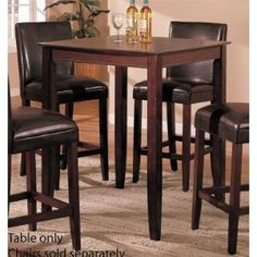 pub style table and chair set leather zero gravity chairs 17 best images dining tables kitchen amazon com poundex ralphie series bar