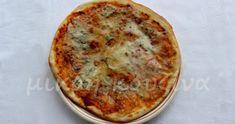 Όπως σας έλεγα και τις προάλλες, μετά την Ιταλία, επικράτησε μανία με ιταλικές συνταγές. Πίτσα, πανακότα και άλλα. Λατρεύω τις ιταλικές πίτ... Pizza Pastry, Bread Recipes, Food And Drink, Pasta, Snacks, Vegan, Cooking, Breakfast, Drinks