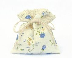 the Blue Roses  100 Gift Bags  Tie Drawstring Bags  от CottnLove