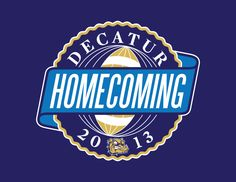 Decatur High School Homecoming Logo - Designed by Daniel Easley