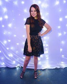 Look de ontem! Styling by @gobbiland (vestido @presspassrocks  sapato e saia @duopressassessoria ) Sim era uma saia por cima de um vestido!