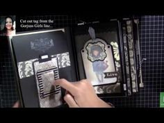 Gorjuss Scrapbook / mini Album Designteam Mona´s Kreativwerkstatt - YouTube