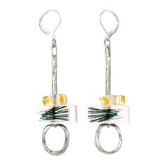 Pewter Earrings // Anne-Marie Chagnon
