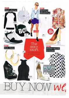 Ted Baker Footwear in Now Magazine 04.03.14