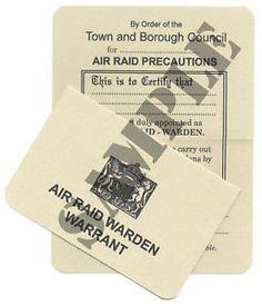 WW2-ARP-Identity-Warrant-Card-Exact-Copy