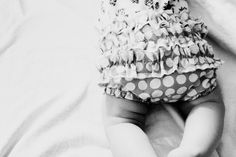 gingham style // serged ruffle bum diaper cover tutorial - see kate sew
