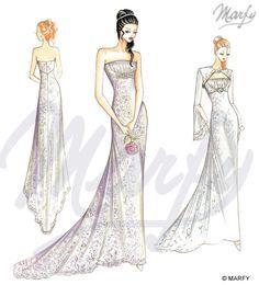 marfy wedding dress pattern