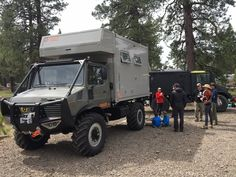 Unimog with 11 ft High Bed