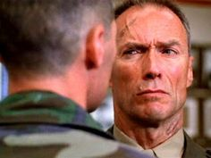 (Heartbreak Ridge)- It's a cluster you know what.that's what clint eastwood said to one of his superior officers in this movie.and it's just about the funniest line in the movie too!
