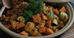 Check out this article from The Detroit News:  Winter stew twist: speedy veggie tagine  http://detne.ws/1GnMsBN