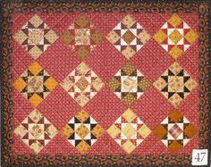 Bittersweet Stars pattern by Jo Morton