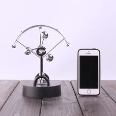 electric perpetual wiggler ornament,Newton pendulum ball office decoration creative business Christmas gift