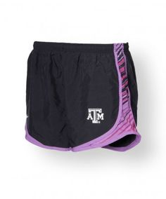 The Nike Women's Tempo Track Running Shorts aren't just for runners. These shorts are a best seller for a reason! Built in Dri Fit breifs, allowing for mositure-wicking support; extra ventilation with breathable mesh side panels; convenient internal pockets; Emboriered ATM logo; all decked out with a funky print!