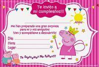 angel y maria Peppa Pig Invitations, Birthday Invitations, Pig Birthday Cakes, 3rd Birthday, Invitacion Peppa Pig, Aniversario Peppa Pig, Cowgirl Party, Pig Party, Baby Shower
