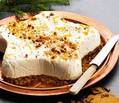 Swedish Christmas Food, Christmas Sweets, Christmas Cooking, Candy Recipes, Sweet Recipes, Dessert Recipes, Frozen Cheesecake, New Year's Food, Recipe For 4