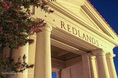 Train Depot at night in Redlands, California.  #Redlands #TrainDepot #Photography