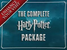 Tour the HP studios!  Another reason to plan that trip to England.