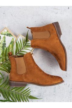 Béžové topánky na plochom podpätku pérka Via Giulia LJ111C Timberland, Chelsea Boots, Vans, Platform, Ankle, Shoes, Fashion, Moda, Zapatos