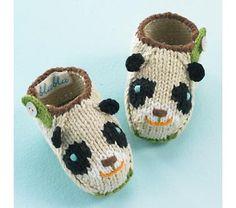 Dandy Panda Booties