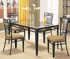 Douglas Stone Rectangular Leg Dining Table | Acme Furniture | Home Gallery Stores
