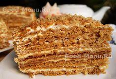 Торт Медовик - рецепт
