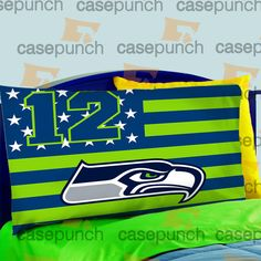 Mz1-we Are The 12th Man Seattle Seahawks Pillow Case For Bed Bedding