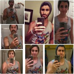 Entire Family Joins Forces to Mock Son's Mirror Selfie - Mandatory.  This is really funny.  The dad one is my favorite.
