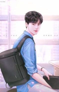 from the story Hwang Family [End] by hwangbaeptr (P. Music Drawings, Art Drawings, Boy Illustration, Handsome Anime Guys, Drama Memes, Modelos 3d, Fanarts Anime, Cha Eun Woo, T Art